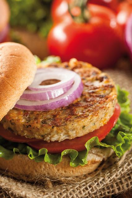 Veg-hamburger