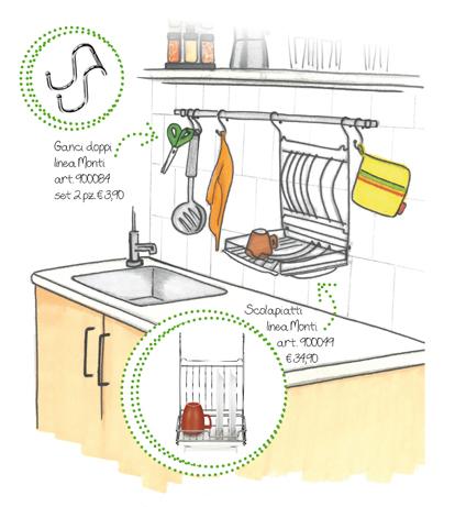 Pareti attrezzate, in cucina e non  solo…