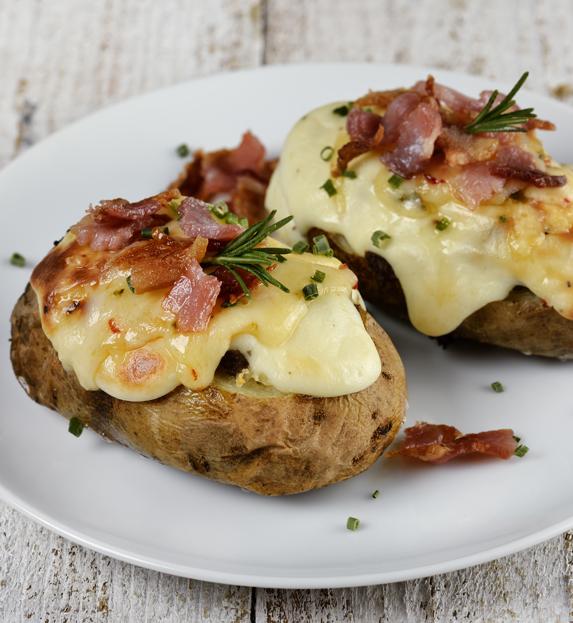 Golose barchette di patate