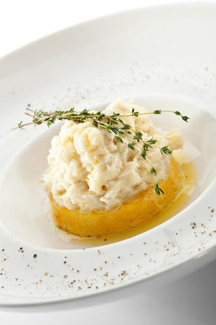 Baccalà mantecato con polenta