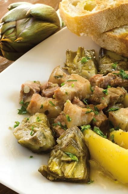 Bocconcini carciofi e patate