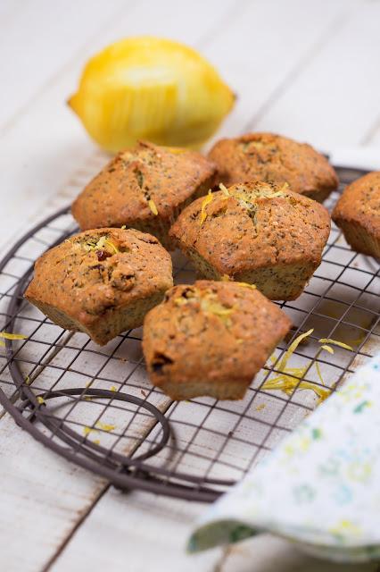 Muffins al limone e melissa
