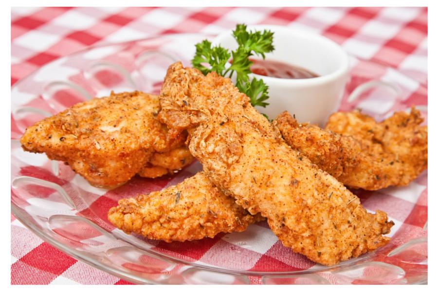 Petti di pollo fritti alle spezie
