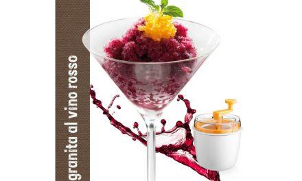 Granita al vino rosso