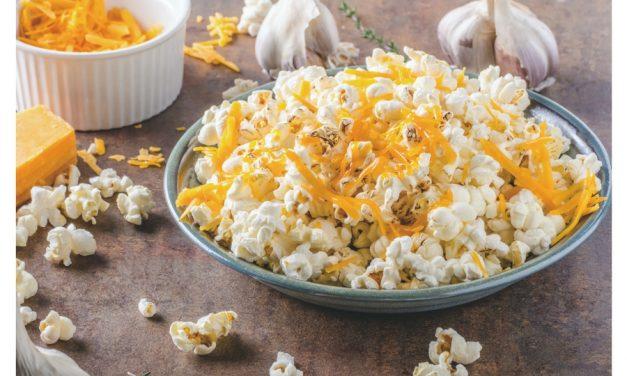 Pop corn al formaggio