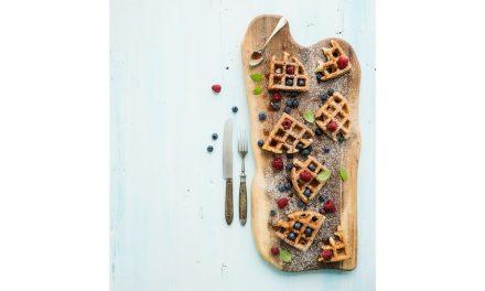 Mini waffle croccanti