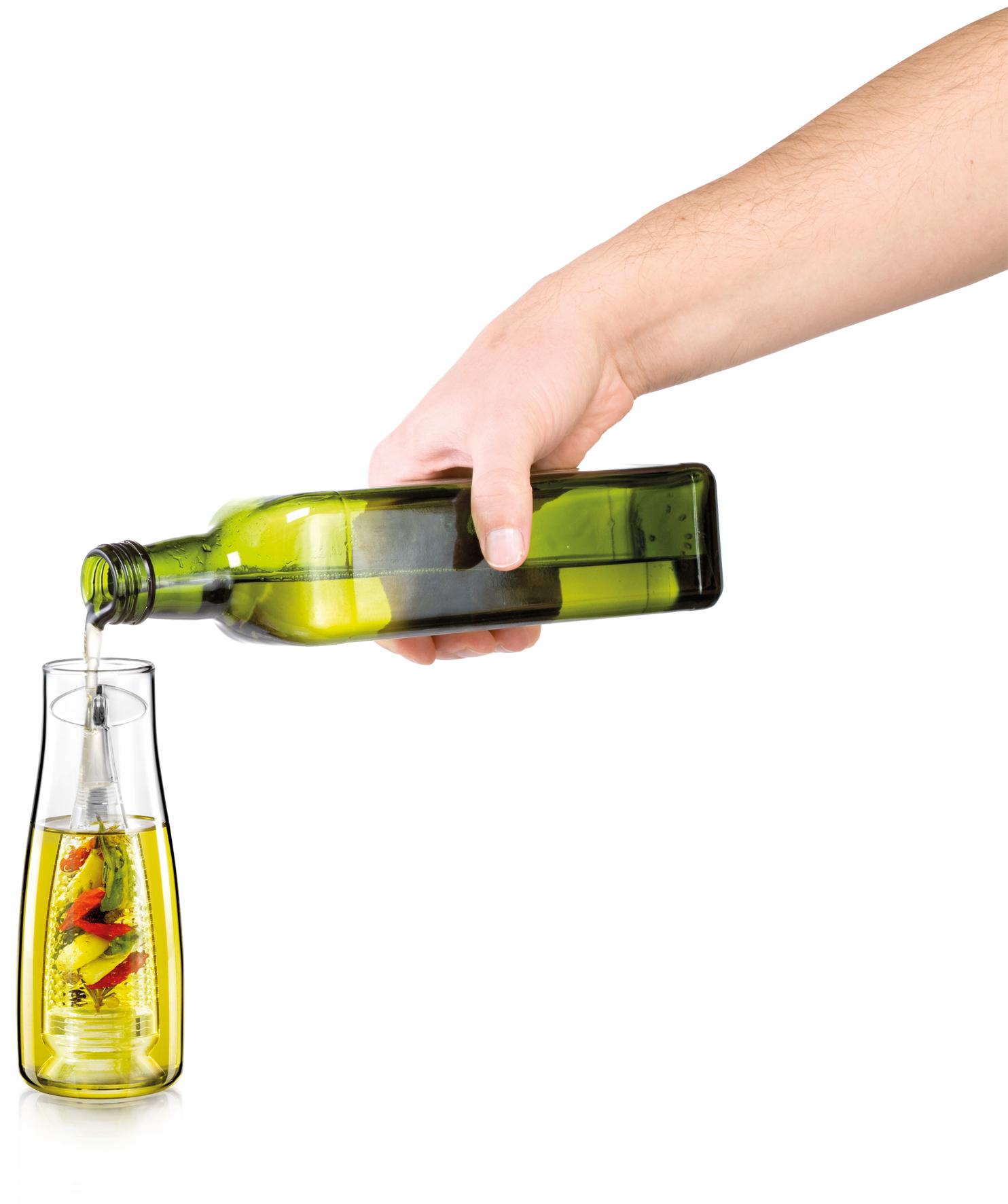 oliera con infusore tescoma