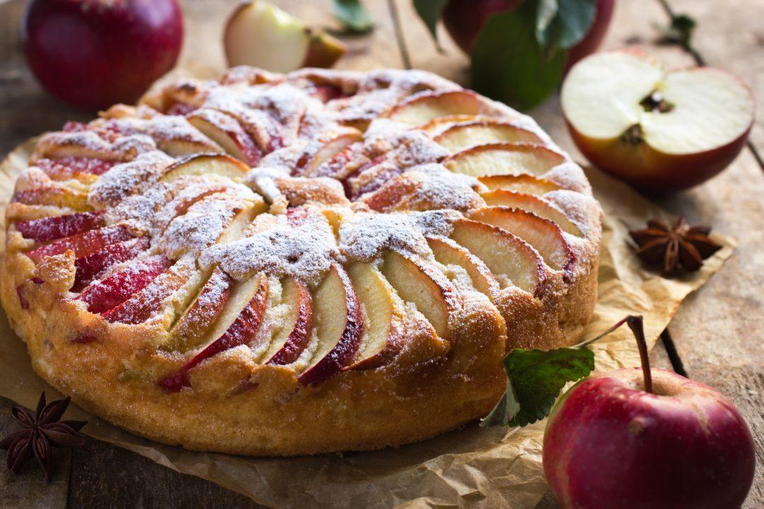 ricetta torta di mele e yogurt tescoma